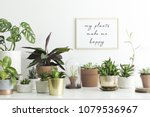 the stylish room filled with a... | Shutterstock . vector #1079536967