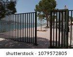 port d' alcudia  mallorca ... | Shutterstock . vector #1079572805