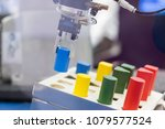 robotic arm pick and place... | Shutterstock . vector #1079577524