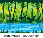 Jungle River Game Background