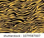 stripe animals jungle tiger...   Shutterstock .eps vector #1079587007
