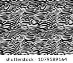 stripe animals jungle tiger... | Shutterstock .eps vector #1079589164