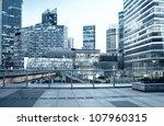 beautiful night view in shanghai   Shutterstock . vector #107960315