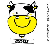 cow icon   symbol  sign  logo.... | Shutterstock .eps vector #1079616245