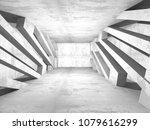 concrete architecture...   Shutterstock . vector #1079616299
