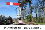 Small photo of steam railway signals