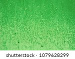 green background with paint... | Shutterstock . vector #1079628299