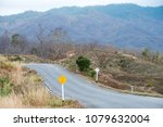 road trip with the natural view ... | Shutterstock . vector #1079632004