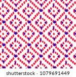 geometric ethnic oriental...   Shutterstock .eps vector #1079691449