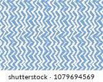 ikat seamless pattern. vector... | Shutterstock .eps vector #1079694569