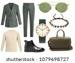 collage of women's clothing  | Shutterstock . vector #1079698727