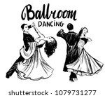 Ballroom Dance. Couples Dancing ...