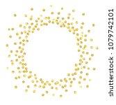 golden splash or glittering...   Shutterstock .eps vector #1079742101