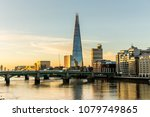 london at sunrise | Shutterstock . vector #1079749865