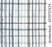 paint stripe plaid seamless... | Shutterstock .eps vector #1079757674