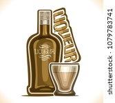 vector illustration of alcohol... | Shutterstock .eps vector #1079783741