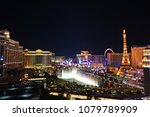 view of the las vegas strip at...   Shutterstock . vector #1079789909