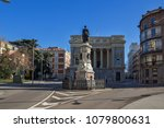madrid  spain   january 22 ... | Shutterstock . vector #1079800631