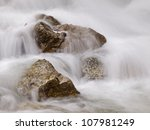 Running Water With Rocks