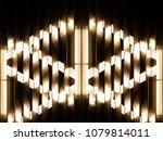 modern architecture  interior ... | Shutterstock . vector #1079814011