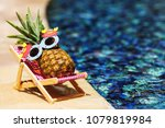 summer lifestyle image of young ... | Shutterstock . vector #1079819984