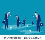 investor. business people... | Shutterstock .eps vector #1079832524