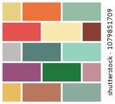 vector mood board   branding... | Shutterstock .eps vector #1079851709