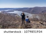 Young Couple Overlooking Hudson ...