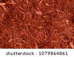 Full Frame Closeup Of Red Mulc...