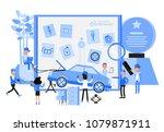 info graphic automotive...   Shutterstock .eps vector #1079871911
