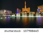 Bellagio Casino Water Show At...
