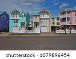 beach haven  nj  1 apr 2018 ... | Shutterstock . vector #1079896454
