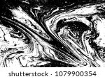 black and white liquid texture. ... | Shutterstock .eps vector #1079900354