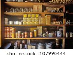 Interior Of General Store In...