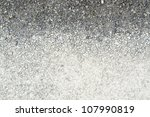 full frame abstract gravel background, flat seen from above - stock photo