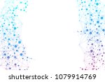structure molecule and... | Shutterstock .eps vector #1079914769