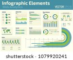 infographic elements web... | Shutterstock .eps vector #1079920241