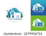 set of cleaning service vector... | Shutterstock .eps vector #1079926721