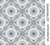 seamless texture with arabic... | Shutterstock .eps vector #1079949995