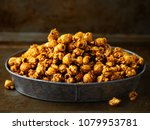 close up of rustic salted... | Shutterstock . vector #1079953781