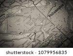 philadelphia on usa map | Shutterstock . vector #1079956835