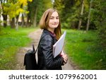 teenage or young adult high... | Shutterstock . vector #1079962001