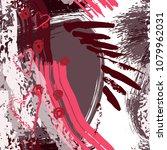 splash brush strokes watercolor ... | Shutterstock .eps vector #1079962031