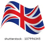 official flag of great britain | Shutterstock .eps vector #107996345