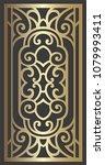laser cut panel design for... | Shutterstock .eps vector #1079993411