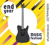 rock and roll  music festival... | Shutterstock .eps vector #1079994854