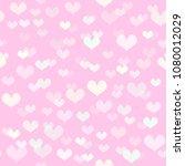heart pattern. seamless vector | Shutterstock .eps vector #1080012029