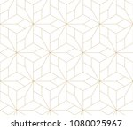 abstract geometric pattern with ... | Shutterstock .eps vector #1080025967