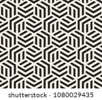 vector seamless pattern with... | Shutterstock .eps vector #1080029435