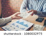 hand giving money united states ...   Shutterstock . vector #1080032975